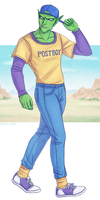 Piccolo - Dragon Ball Z - The Radest of Green Dads by Naimly