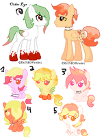 VooDoo X Bloody Mary Breedable (CLOSED) by Radioactive-Cryptid