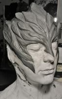 Sylvari makeup test second step by made-me-a-monster