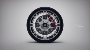 light wheel No3 silver by mikeandlex