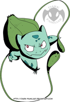 001 - Bulbasaur - Digimon Style by TokenDuelist