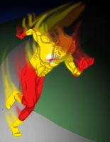 Art Trade: Kid Flash by brody-lover