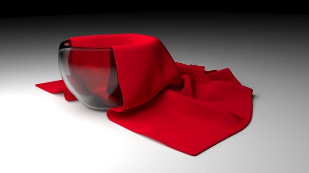 Cup and Cloth by DollarAkshay