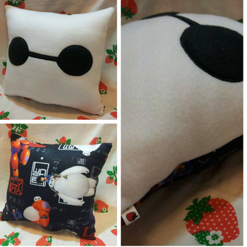 Baymax Pillow by SillinessofSewing
