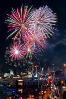 Port festival firework by Usagi-Atemu-Tom