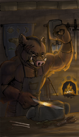 Blacksmith by Tsebresos