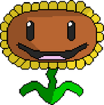 Plants Vs Zombies - Sunflower by Gawayno