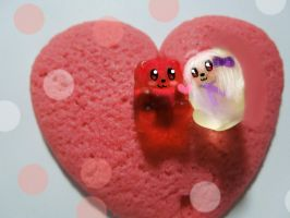 lol these are some ugly gummy bears by RainbowIcePop