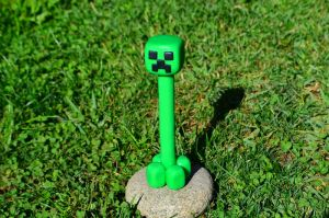 Creeper Pen/Lapiz Clay Tutorial by CraftDragons