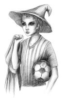 Let's play football-soccer by Scheherazade2c