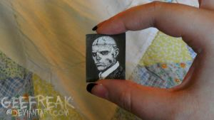 Mini Portrait- Rick Genest by GeeFreak