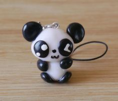 Kawaii Panda Charm by yolei-s
