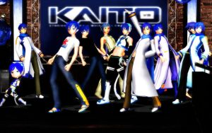 MMD: Kaito +One Two Three+ (With Video Link) by RayneDarkknight