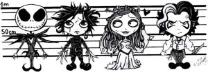 Tim Burton Collection by miercoles666