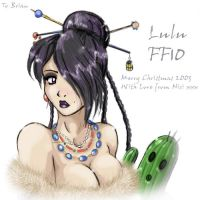 Lulu from ffX by Zirconia