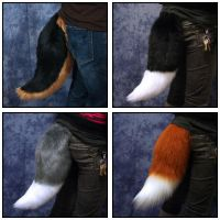 Tails for Sale! In time for HALLOWEEN! by jillcostumes