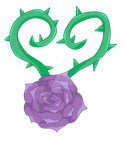 Commission Cutie Mark Rose by DelLyra