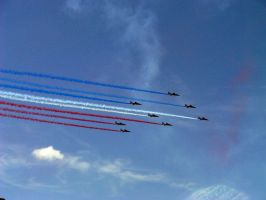 Patrouille de France by nicelandscape