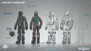 Space Suit Concepts by shirik