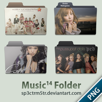 Music Folder 14 PNG by sp3ctrm5tr