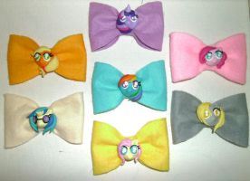 My Little Pony: Friendship is Magic Hairbows by delicioustrifle