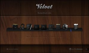 VELVET RocketDock by GuillenDesign