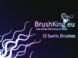 BrushKing Swirls Set 1 by BrushKing