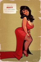 The Big Question - Cartoon PinUp by HugoTendaz