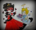 Gift. The bad Princess and Prince good by xxXWhiteloveXxx