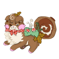 Bliss: Forest Yule Log Sushi Dog DTA by pinalapple
