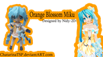 Orange Blossom Miku by ChatarinaTSP