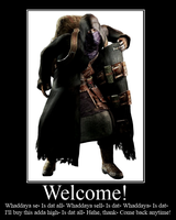 Welcome, stranger! by RobinGMS