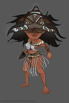 CDC~ Maori Character Design! by SealyOcean