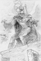 Batman sketch by Mar11co