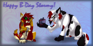 Happy B-Day Stormy! by Liger33