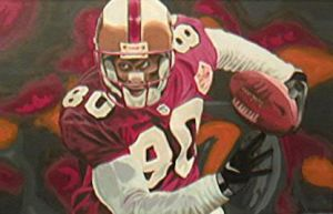 Jerry Rice by mikewalchuk