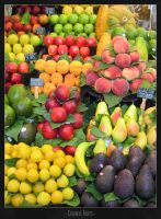Colorful fruits by Jo-Hanes