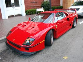 Ferrari F40 V8 Twin Turbo by Partywave
