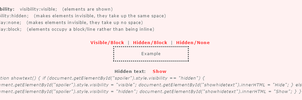 Visibility CSS Update by MikariStar