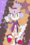 Sonic Postcard - Blaze by destinal