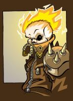 Ghost Rider - colours by scoundreldaze