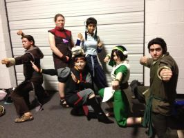 Zenkaikon 2012 ATLA-LoK group shot by westen182