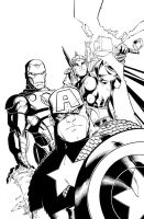 AVENGERS: EMH 3 by NickSchley