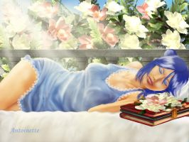 Sleeping beauty by petiteantoinette