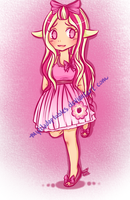MLP- Gijinka'd!?!! Raspberry Delight! by MyLilAdoptables