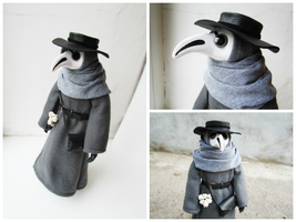 Plague Doctor Doll by MarrieKo