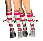 Stockings 2 layers psd by taterstock