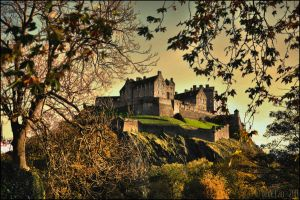 Edinburgh Castle by mesmerizer