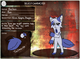 TBSP Application || Player 1 || Kailen by Soraskynin
