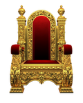 Chair - Kingchair PNG Stock by Gilgamesh-Art